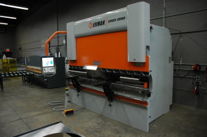 Ermak CNC Press Brake to make fabrication easy, safe and precise