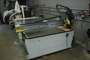Multicam CNC Router used for any fabrication job